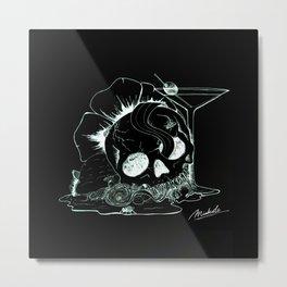 So sweet, you're drawing flies (Negative) Metal Print