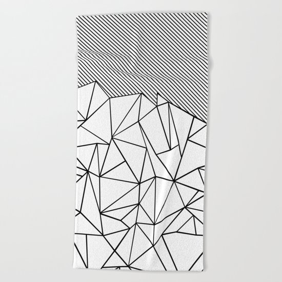 Ab Lines 45 Beach Towel