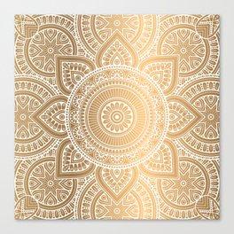 Gold Mandala 3 Canvas Print