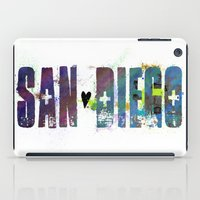 san diego iPad Cases featuring San Diego by Tonya Doughty
