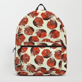 curled fox polka ivory Backpack
