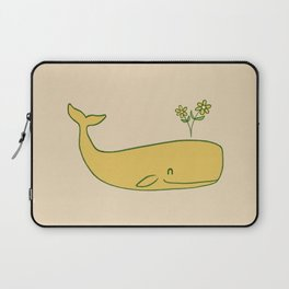 Peace Whale - colour option Laptop Sleeve