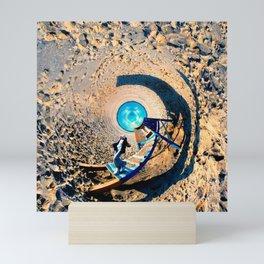 Round World #1 Mini Art Print