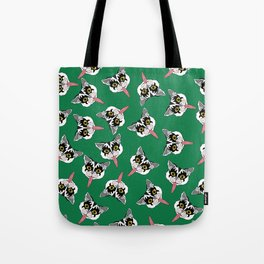 Cat got your tongue? Tote Bag