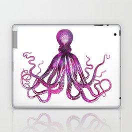 pink Octopus unique underwater creature Laptop & iPad Skin