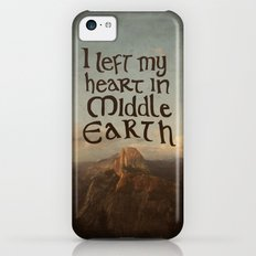 I Left My Heart in Middle Earth iPhone 5c Slim Case