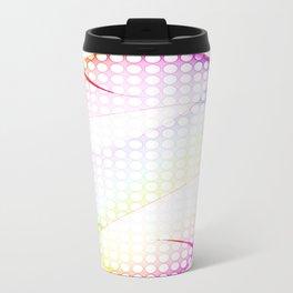 abstract colorful tamplate Travel Mug