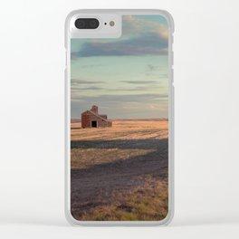 Grain Elevator 23 Clear iPhone Case
