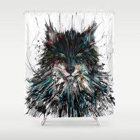 werewolf Shower Curtains featuring Werewolf id by DizzyNicky