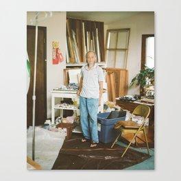 Steve Yee in Studio Canvas Print