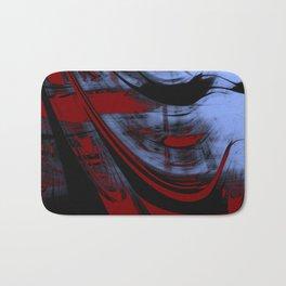Impressionist Old Red Sailship Bath Mat