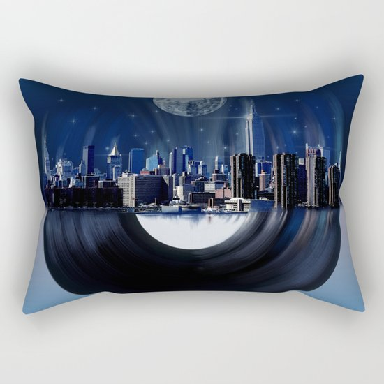 new york city music 1 Rectangular Pillow