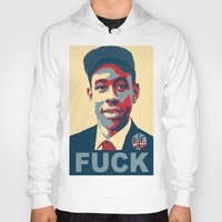 tyler the creator Hoodies featuring Tyler The Creator Hope Poster by Misadventures