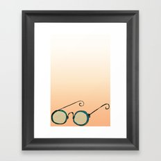Spectacles Framed Art Print