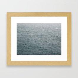 Lost Sailor Framed Art Print