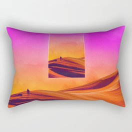 That which preceds everything Rectangular Pillow
