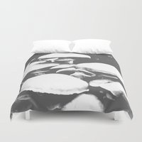 mushroom Duvet Covers featuring Mushroom by Nick Strother