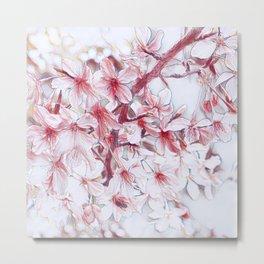 Delicate Floral 118 Metal Print