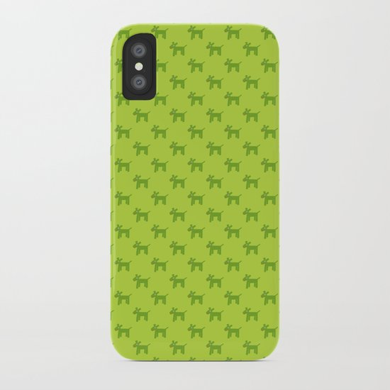 Dogs-Green iPhone Case