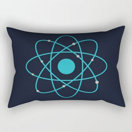 Atom, Molecules, DNA, Science decor, science class Rectangular Pillow