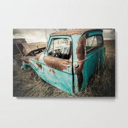 Car Graveyard 7 Metal Print