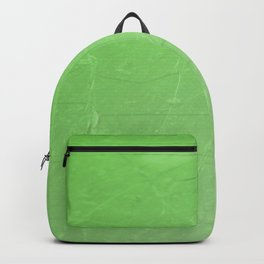 Shattered green flash ombre gradient Backpack