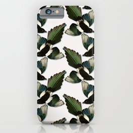A Tiding Of Magpies iPhone Case