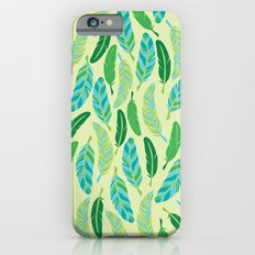 Green Feathers Slim Case iPhone 6s