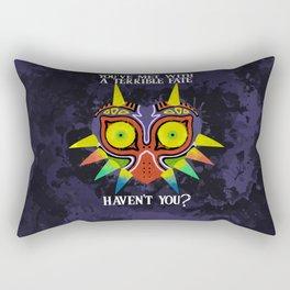 Majora's Mask Splatter (Quote) Rectangular Pillow