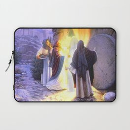 Jesús christ almighty first easter Laptop Sleeve
