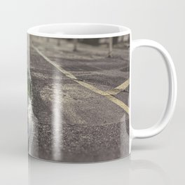 City street, puddle, pool, water, downtown, Manhattan, New York (2020-6-GNY166) Coffee Mug