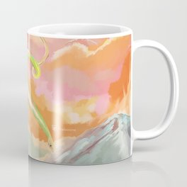 Fantasy Dragon and Clouds Coffee Mug