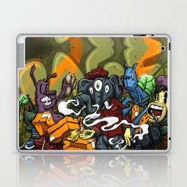 Clique Brown Royal Stain Laptop & iPad Skin