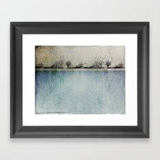Winter Landscape - Susan Weller Framed Art Print