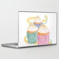 sprinkles Laptop & iPad Skins featuring Sprinkles by Hayley Bowerman Design