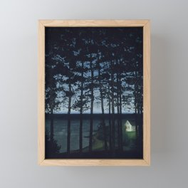 Fisherman's Cottage, Harald Sohlberg, 1906 Framed Mini Art Print