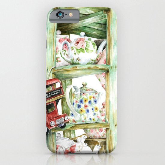 Alice's Teapots iPhone & iPod Case