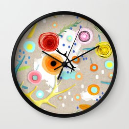 I am ready for the good times Wall Clock