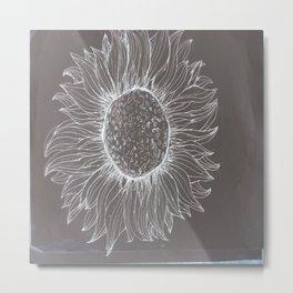 negative into a positive Metal Print