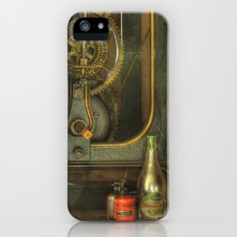 Tik, tak, tik, tak... iPhone Case