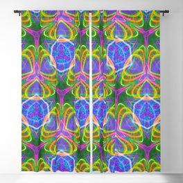 490.5 trippy tile Blackout Curtain