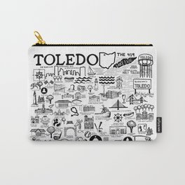 Toledo Ohio Carry-All Pouch