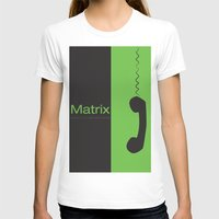 "matrix T-shirts featuring Film ""Matrix"" by Patricia Calzado"