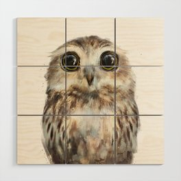 Little Owl Wood Wall Art