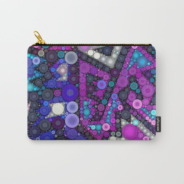 Hipster Bubbles Carry-All Pouch