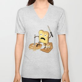 French Toast Unisex V-Neck