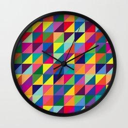 Geometric Pattern #7 Wall Clock