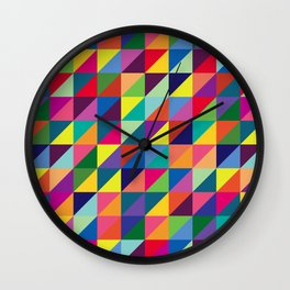 Geometric Pattern #7 Wall Clock