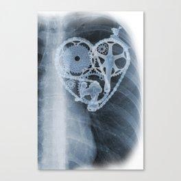 bike lover X-ray Canvas Print