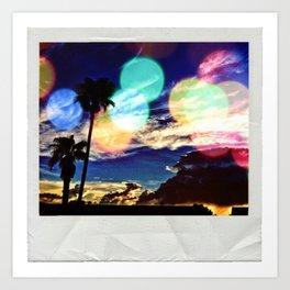 A Polaroid Art Print